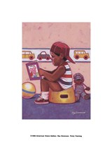 Potty Training Fine-Art Print
