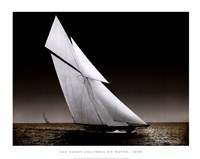 The Yacht Columbia on Water, 1899 Fine-Art Print
