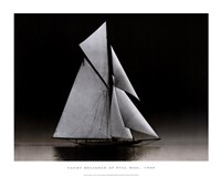Yacht Reliance at Full Sail, 1903 Fine-Art Print