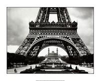 La Tour Eiffel Et Le Vieux Trocadero Fine-Art Print