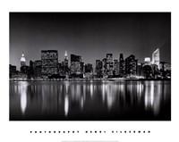 New York, New York, Manhattan East Side Fine-Art Print