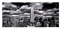 New York, New York, Clouds Over Manhattan Fine-Art Print