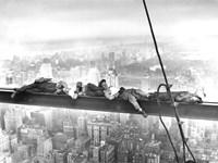 Sleeping Above Manhattan Fine-Art Print