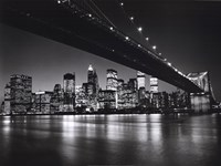 New York, New York, Manhattan Skyline Fine-Art Print