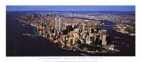 Aerial View of Manhattan Fine-Art Print