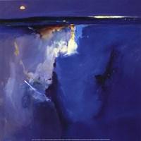 Violet Horizon - square Fine-Art Print