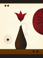 A Single Red Tulip Fine-Art Print