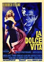 La Dolce Vita Federico Fellini Wall Poster
