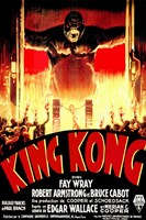 King Kong Tribal Wall Poster