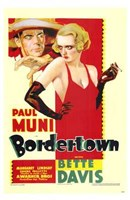 Bordertown Wall Poster