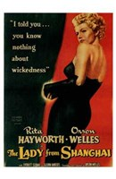 The Lady from Shanghai, c.1948 Wall Poster