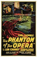 The Phantom of the Opera Carl Kaemmle Wall Poster