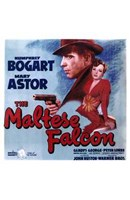 The Maltese Falcon Mary Astor Humphrey Bogart Wall Poster