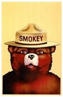 Smokey the Bear Wall Poster