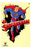 Superman Vintage Wall Poster