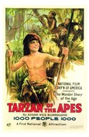 Tarzan of the Apes, c.1917 - style A Wall Poster