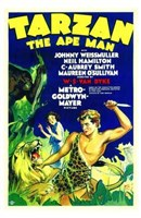 Tarzan the Ape Man, c.1932 - style A Wall Poster