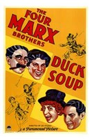 Duck Soup Wall Poster