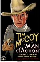 Man of Action Wall Poster