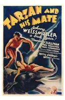 Tarzan and His Mate, c.1934 - style A Fine-Art Print