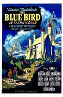 The Blue Bird Wall Poster