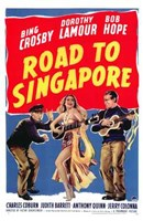 Road to Singapore Wall Poster