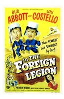 Abbott and Costello in the Foreign Legion, c.1950 Fine-Art Print