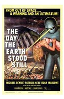 The Day the Earth Stood Still From Outer Space Fine-Art Print