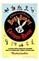 Bugs Bunny a Cartoon Revue Wall Poster