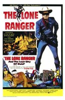 Lone Ranger and the Lost City of Gold  T Wall Poster
