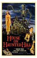 House on Haunted Hill Wall Poster