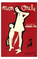 Mon Oncle Wall Poster