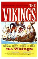 The Vikings (movie poster) Wall Poster