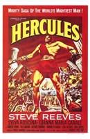 Hercules Steve Reeves Wall Poster