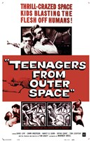Teenagers from Outer Space Fine-Art Print