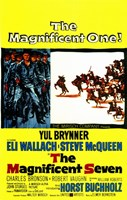 The Magnificent Seven Cowboys & Indians Wall Poster