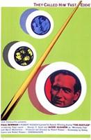 The Hustler Green Billiards Fine-Art Print