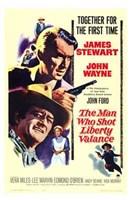 The Man Who Shot Liberty Valance Wall Poster