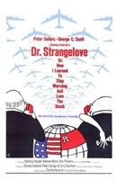 Dr Strangelove  or: How I Learned to Sto - tall Wall Poster