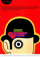 Clockwork Orange Stanley Kubrick Wall Poster