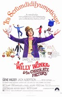 Willy Wonka and the Chocolate Factory - It's Scrumdidilyumptious Fine-Art Print
