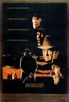 Unforgiven - Clint Eastwood Wall Poster