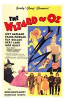 The Wizard of Oz Gaiety Glory Glamour Wall Poster