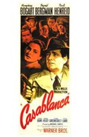 Casablanca Vertical Movie Cast Fine-Art Print