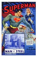 Superman Man of Steel Wall Poster