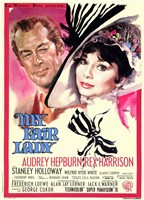 My Fair Lady Audrey Hepburn Wall Poster