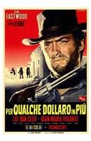 Per Qualche Dollaro in Piu Wall Poster