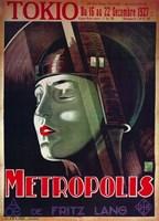 Metropolis Tokio Green Fine-Art Print