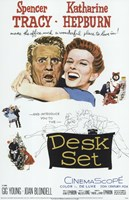 Desk Set Wall Poster