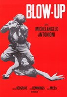Blow Up Red Michelangelo Antonioni Wall Poster